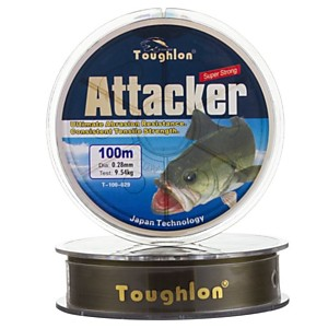 Леска Toughlon ATTACKER (100 м 0.20 мм)