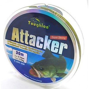 Леска Toughlon ATTACKER (30 м 0.18 мм)