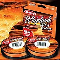 Шнур плетеный Berkley Whiplash Orange 110m (0.10 мм)